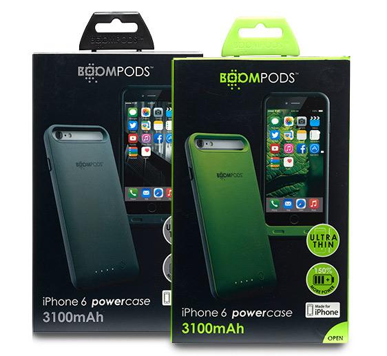 Boompods - Powercase 31000 - iPhone 6/s