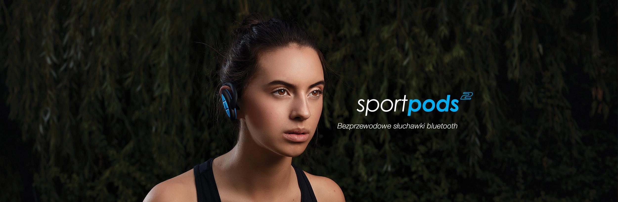 Boompods sportpods 2 - Bezprzewodowe słuchawki bluetooth