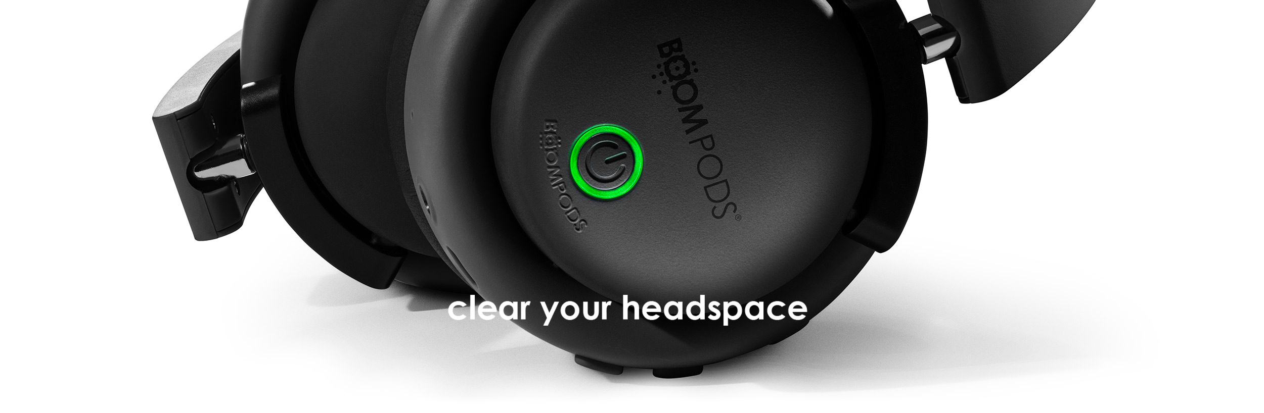 Boompods hush wireless headphones