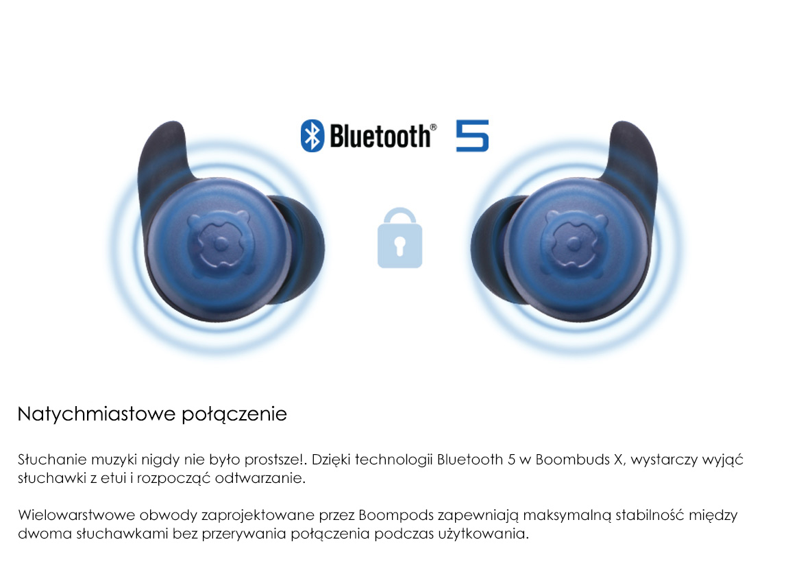 Boompods X - Instant Connection