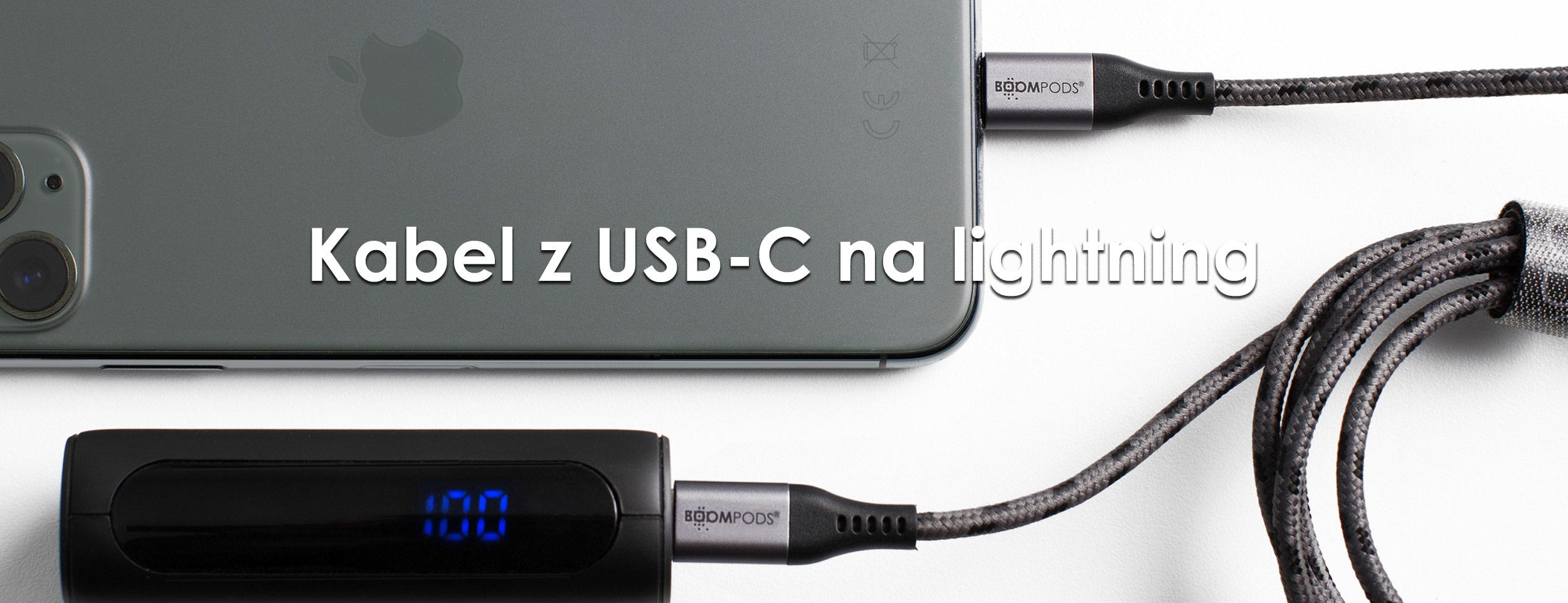 Kabel lightning na licencji Apple z USB-C (1,5 m)
